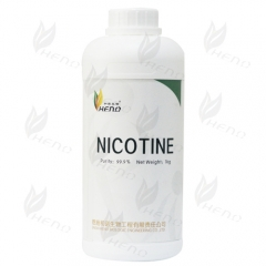 nicotina di 1kg ad alta concentrazione incolore nicotina 999mg/ml putiry made in Cina